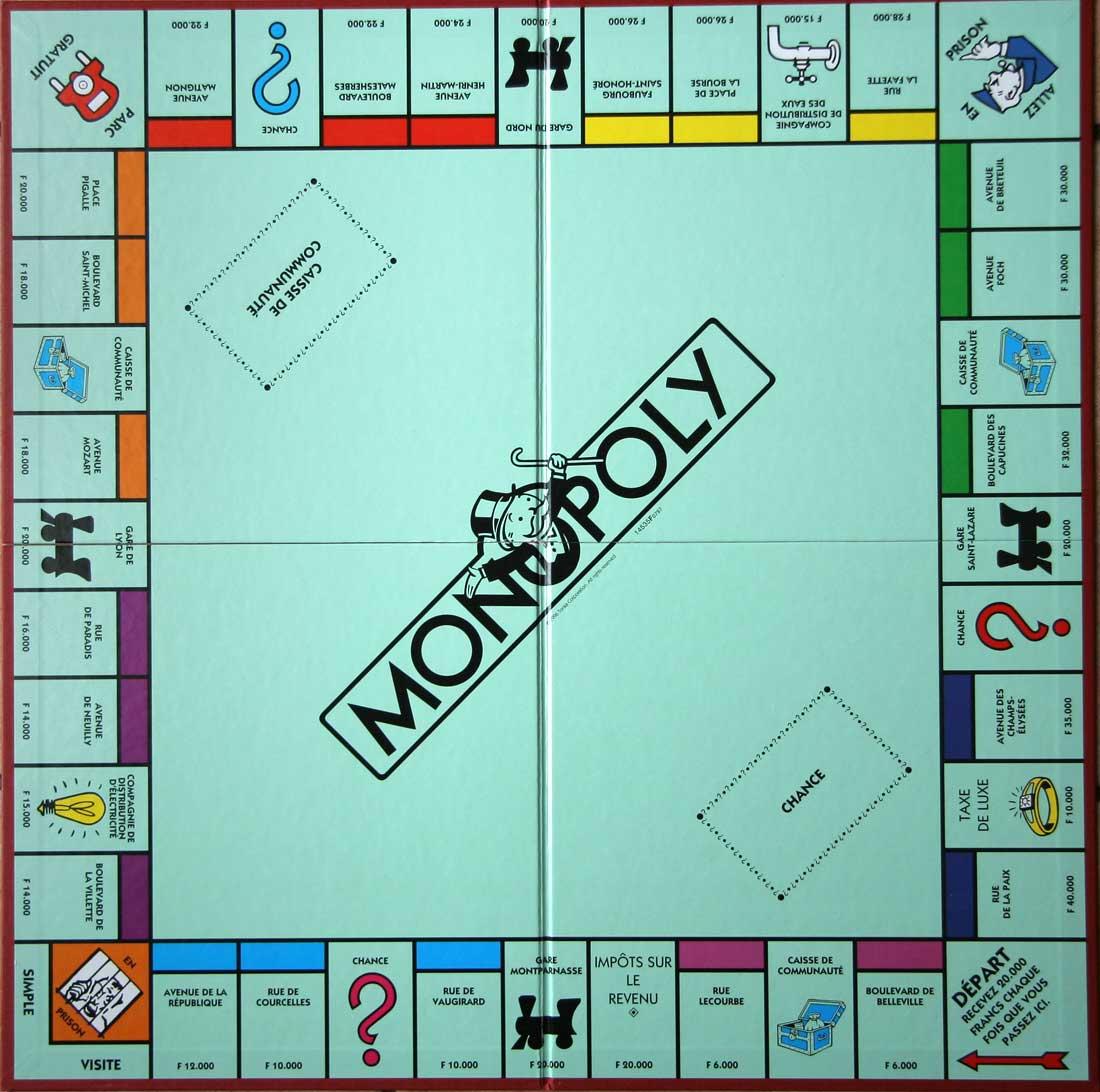 vos Monopoly !